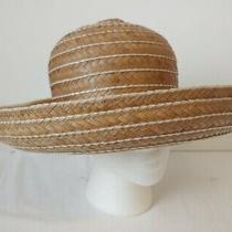 Vintage Miss Dior Christian Dior Straw Hat  Excellent Photo