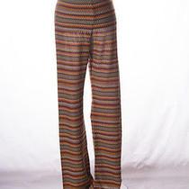 Vintage Missoni Flame Stitch Iconic Zig Zag Pants Photo