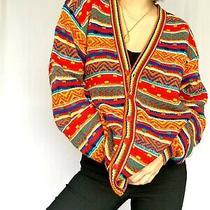 Vintage Missoni Multicolour Cardigan Wool Blend Photo