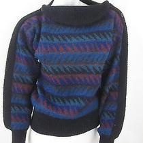 Vintage Missoni Orange Label Unique Collar Mohair Blend Sweater Size S Italy Photo