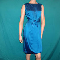 Vintage Molly Modes Blue Dress With Matching Coat Photo