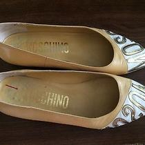 Vintage Moschino Flats Dress Shoes Size 5.5 Photo