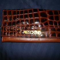 Vintage Moschino Leather Wallet Photo