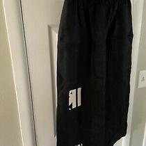 Vintage My Tribe Joy Burton 100% Linen Black Long Skirt Made in Usa Size M Photo