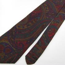 Vintage Narrow Adam Furst Art Nouveau Maroon Purple  Silk Necktie Neck Tie 4281 Photo