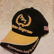 Vintage Nascar Pii  Motor Express Racing Network Flexfit S-M Baseball Hat Cap  Photo