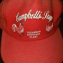 Vintage Nebraska Red Campbells Soup Hat Retro Snapback Photo
