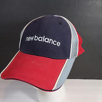 Vintage New Balance Fitted Baseball Hat Cap Stretch Flex Unique Rare Official  Photo