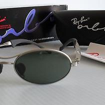 Vintage New Never Worn 1990's b&l Ray Ban Orbs Oval W2178 Sunglasses With Box Photo
