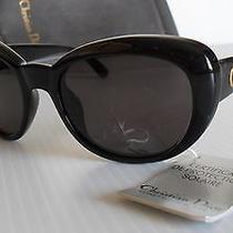 Vintage New Never Worn 1990's Christian Dior 2945 'Jackie O.' Sunglasses Black Photo