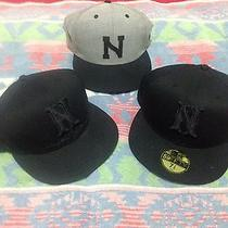 Vintage Nixon New Era N Hat Cap Lot 7.5 7 1/2 Watch Watches Photo