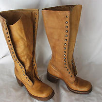 Vintage No Name Frye Womens Boots. Size 6 1/2b. Vg-Uc Made in Usa Photo