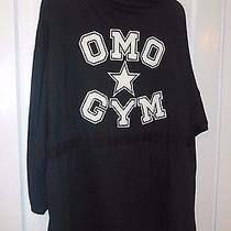 Vintage Norma Kamali Hooded Omo Gym Black Jacket Xl Coat Very Rare and Unique Photo