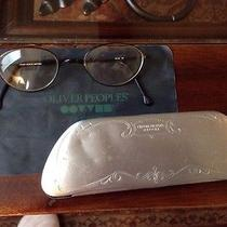 Vintage Oliver Peoples Op-83 Glasses and Metal Case Photo