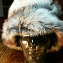 Vintage Ombre Tuscan Lamb Fur Hat Made in Italy Photo