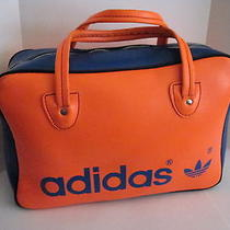 Vintage Orange & Blue Adidas Small Bag Tote Photo