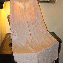 Vintage Oscar De La Renta Pink Blush Long Lingerie Nightgown - Xl / Xxl  Photo