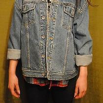 Vintage Oversized Dkny Denim Jacket Hip Grunge 90s Photo