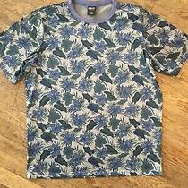 Vintage Patagonia Capilene S-S Shirt Mens L Flower Print Camo Usa Spell-Out Rare Photo