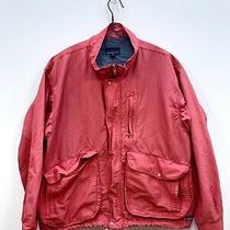 Vintage Patagonia Jacket Windbreaker Bomber Coat Red Medium Tactical Pocket Usa Photo