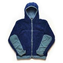 Vintage Patagonia Rhythm Retro X Deep Pile Hoody Hoodie Mens Xs Fits M Blue Fa04 Photo