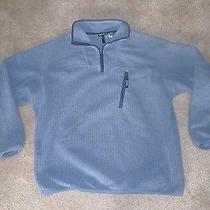 Vintage Patagonia Synchilla Men's 1/4 Zip Fleece Jacket Xl Light Blue Photo