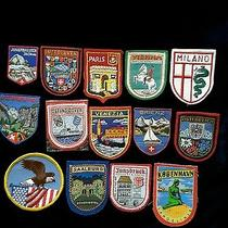 Vintage Patches /western Europe /american Eagle/milano 1970's  New Condition Photo