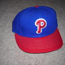 Vintage Philadelphia Phillies American Needle Mlb Baseball Fitted Hat 7 Photo