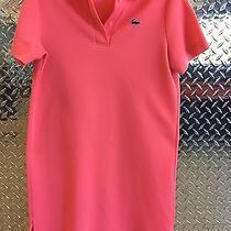 Vintage Pink Chemise Lacoste Dress Large Rare Photo