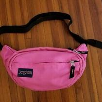 Vintage Pink Jansport Fanny Pack Waist Belt Bag Shoulder Sling Hipster Photo