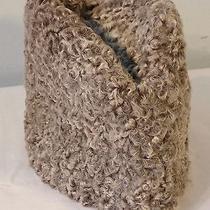Vintage Pmk Gray Persian Lamb Fur Russian Hat  Photo