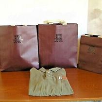 Vintage Polo Shirt Olive Green Ruehl No. 925 Size  Xx Large Rare Hudson Photo