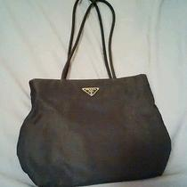 Vintage Prada Authentic Jackie O 90s Nylon Medium Shoulder Bag Photo