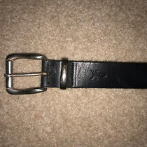 Vintage. Preowned Frye. Brown Leather Belt Men Size 32. Style B430. Photo