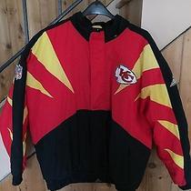 Vintage Pro Line Kansas City Chiefs Jacket by Apex One Size Large Nfl Football Photo