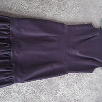 Vintage Purple Dior Dress With Frills Photo