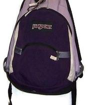 Vintage Purple Jansport Backpack  Photo
