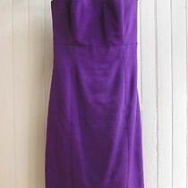 Vintage Purple Strapless Dress by Chloe Photo