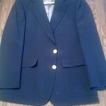 Vintage Ralph Lauren Polo University Club 2 Gold Button Blazer Mens Sz 42r u.s.a Photo