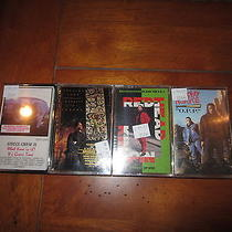 Vintage Rap Hip Hop Lot Tapes Redhead Kingpin Gucci Crew Speacial Ed Never Open Photo