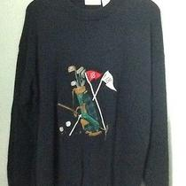 Vintage Rare Brooks Brothers Sweater Golf Bag L Large 1818 Rare Photo