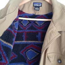 Vintage Rare Mens Patagonia Indian Blanket Lined Barn Jacket Medium Photo