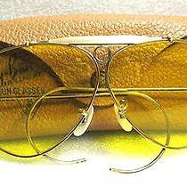 Vintage Ray-Ban b&l Aviator Kalichrome 12kgf Post Ww Ii Nos Shooter Sunglasses Photo