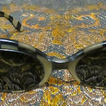 Vintage Ray-Ban Bausch & Lomb 'Bewitching' Sunglasses Faux Mother of Pearl/onyx  Photo