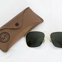 Vintage Ray-Ban Bausch & Lomb Caravan Aviator Sunglasses - Usa Made Photo
