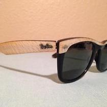 Vintage Ray Ban wayfarerb&l in Black and Mother of Pearl Rare Find Photo
