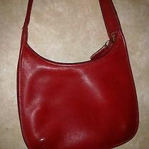 Vintage Red Coach Bag Photo