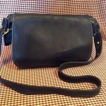 Vintage Retro Authentic Coach Leather Cross Body Handbag Hod-9951 Photo