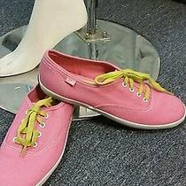 Vintage Retro Cool Wome Pink Keds Sneakers Sz 7m New Photo