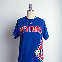 Vintage Retro Detroit Pistons the Go to Tees by Adidas Size S Photo